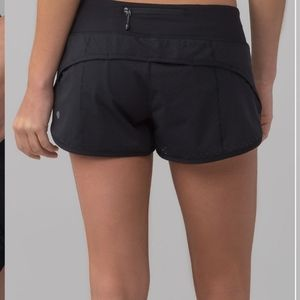 Lululemon speed short black 2.5""
